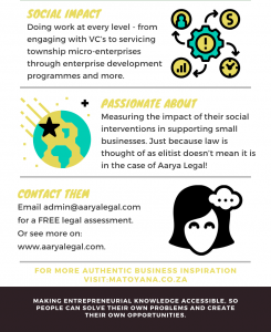 In The Spotlight with Aarya Legal