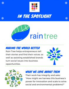In The Spotlight with Rain Tree
